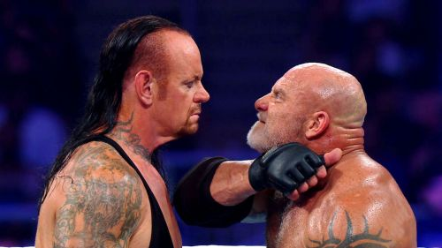 Goldberg vs The Undertaker in Saudi Arabia