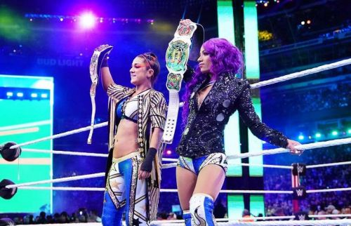 Banks hasn't been seen in WWE since losing the Women's Tag Titles with Bayley to The IIconics.
