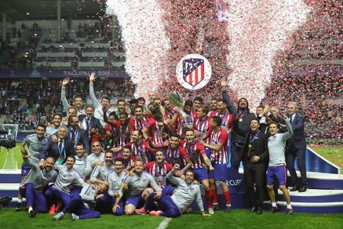 Atletico Madrid are the latest winners of the UEFA Super Cup (2018 Talinn)