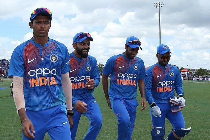 भारत ने जीता पहला मैच