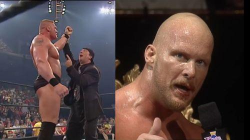 Lesnar and Austin