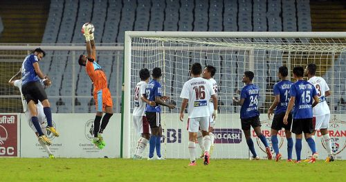 Mohun Bagan made seven changes to their starting line-up