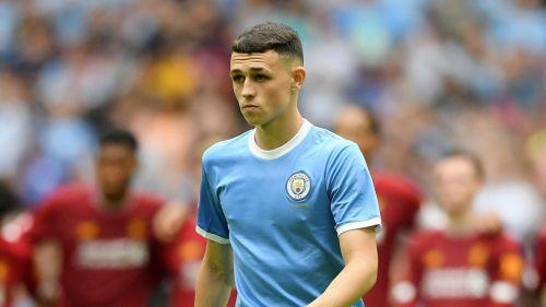 Manchester City midfielder Phil Foden