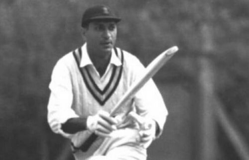 Polly Umrigar was the backbone of the Indian batting lineup in the 1950s