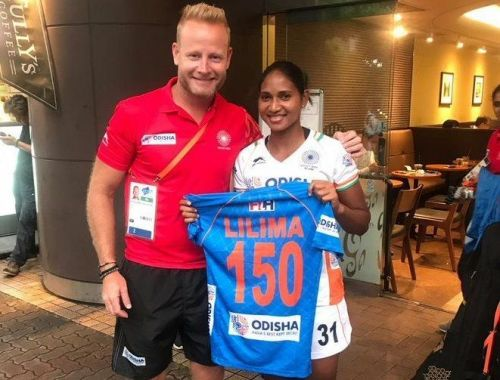 Lilima Minz earned her 150th cap in the final