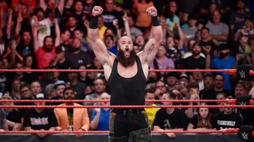 Strowman plans to be in the WWE for a long time.