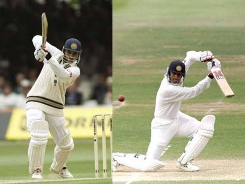 Rahul Dravid and Sourav Ganguly made their debut at Lord's in 1996