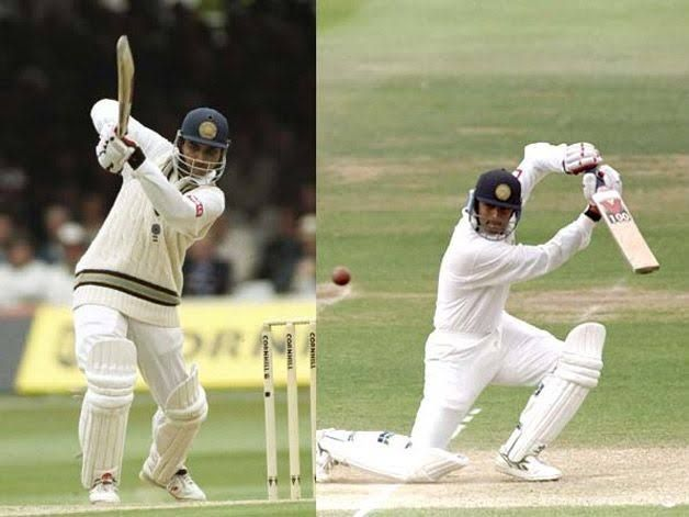 Rahul Dravid and Sourav Ganguly made their debut at Lord