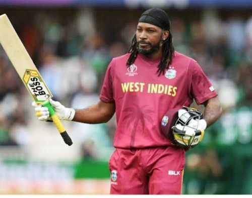 West indira vs india - Chris Gayle on the verge of breaking Brain Lara's record