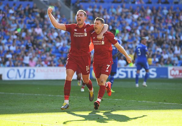 Milner and Henderson are key names in Liverpool