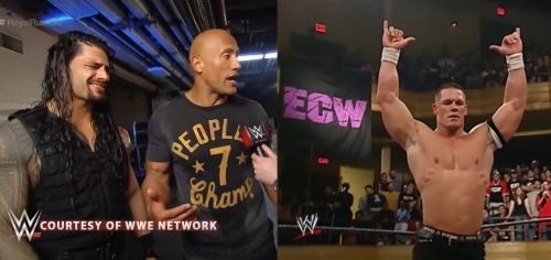 Reigns and Cena, two incredibly polarizing Superstars