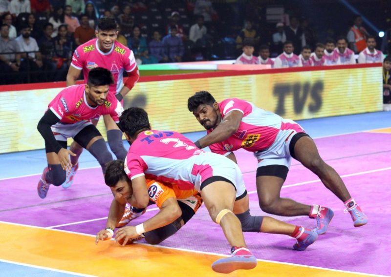Puneri Paltan succumbed to Jaipur Pink Panthers in a heated battle
