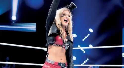 Toni Storm in the Mae Young Classic