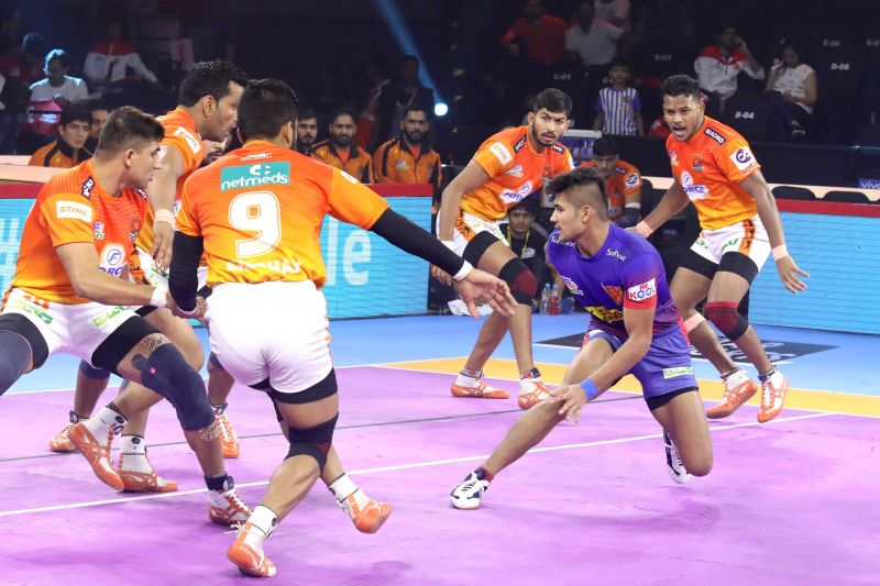 प्रो कबड्डी 2019, 35वां मैच: पुनेरी पलटन vs दबंग दिल्ली