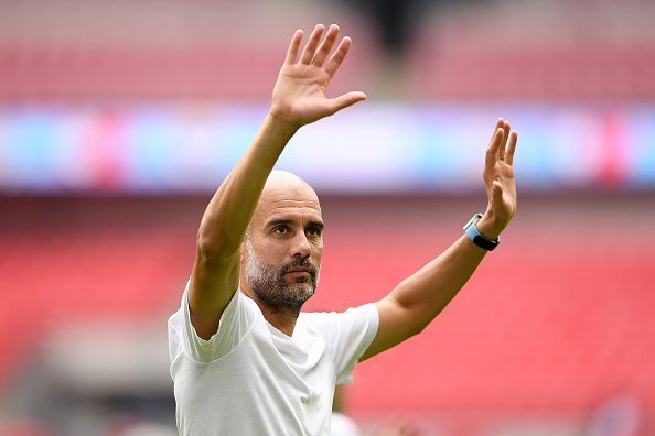 Guardiola would be happy with the business his club has conducted so far