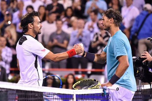 Nadal survived a scare against Fognini in the Montreal quarterfinals