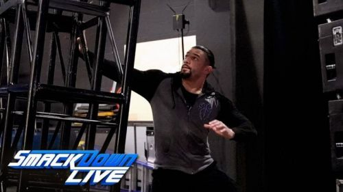 Roman Reigns was attacked on an episode of SmackDown Live