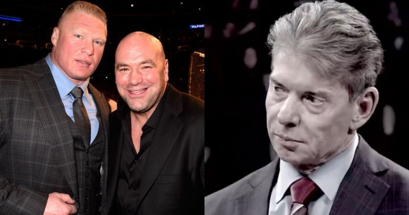 Brock Lesnar had a lucrative time with the UFC.