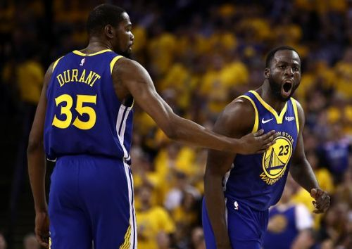Draymond Green and Kevin Durant spent three years together with the Golden State Warriors