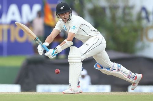 Trent Boult in action with the blade.