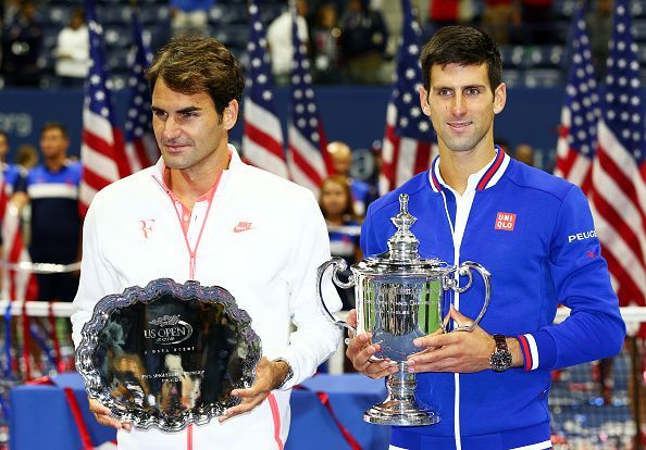 In his 7th US Open final, Federer lost to Djokovic in 2015
