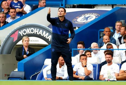 Frank Lampard and Chelsea failed to record their first home win of the season