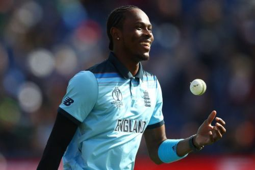 Image result for Jofra Archer white jersey