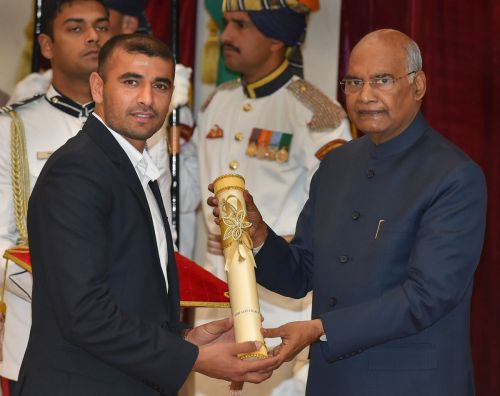 Ajay was conferred with the glorious Padma Shri earlier this year