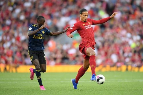 /Liverpool FC v Arsenal FC - Premier League