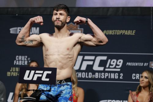 Marco Polo Reyes is returning to the Octagon in Mexico