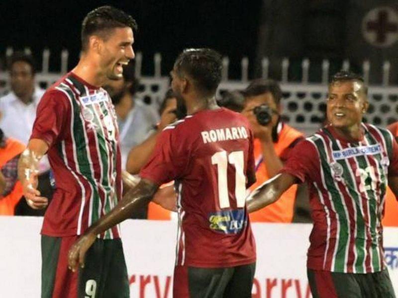 Mohun Bagan won their opening match against Mohammedan Sporting