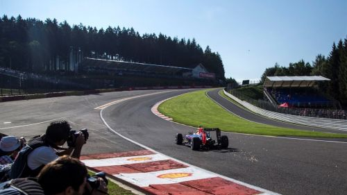 Eau-Rouge, the most spectacular corner in F1