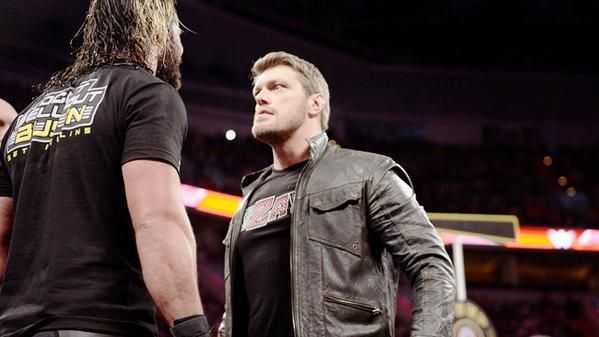 Edge and Seth have had issues in the past