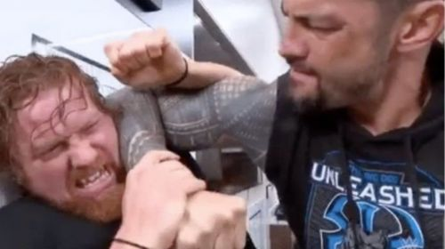 Buddy Murphy revealed the identity of Roman Reigns' attacker