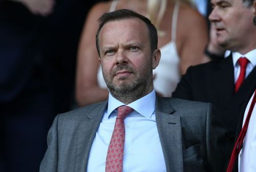 Manchester United's chief executive Ed Woodward.