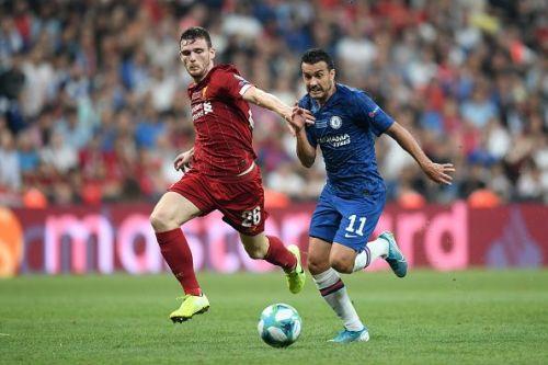 Pedro was brilliant in the first half
