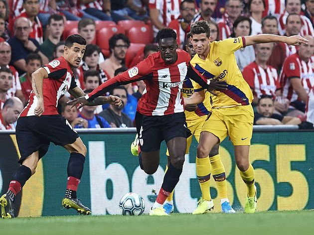 Inaki worked tirelessly, both in-and-out of possession, to create chances from nothing for Bilbao
