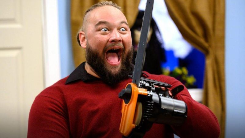Bray Wyatt literally takes a chainsaw to his past in the Firefly Funhouse