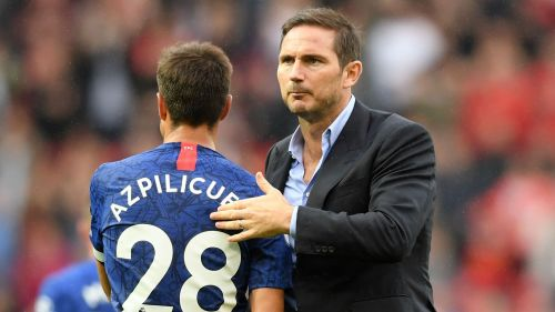 Frank Lampard and Cesar Azpilicueta
