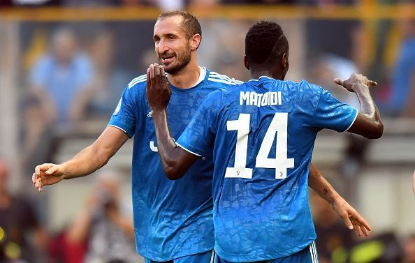 Chiellini takes the plaudits after scoring the only goal of the game at Parma