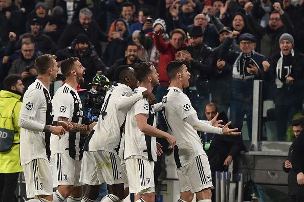 The Juventus team