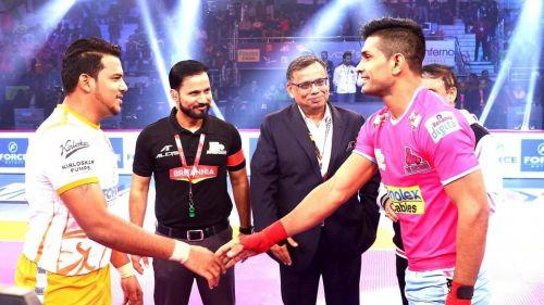 Puneri Paltan will battle the Jaipur Pink Panthers tonight