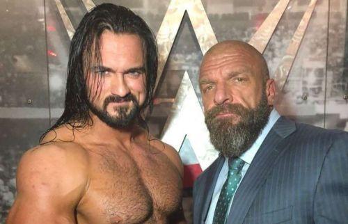 Drew McIntyre and Triple H