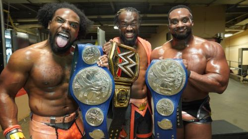The New Day beat the Undisputed Era to the punch regarding all members holding gold this year.