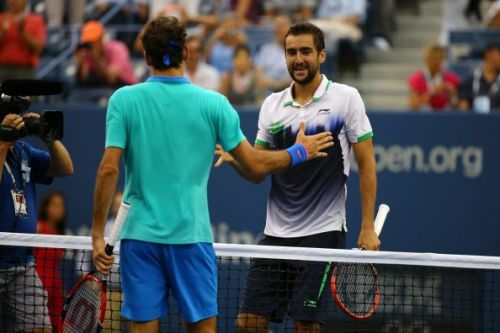 Federer's 4th straight-set defeat at the US Open came against Cilic in the 2014 semifinals