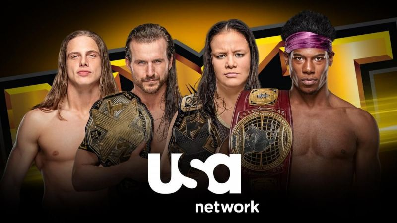 NXT is headed to the USA Network