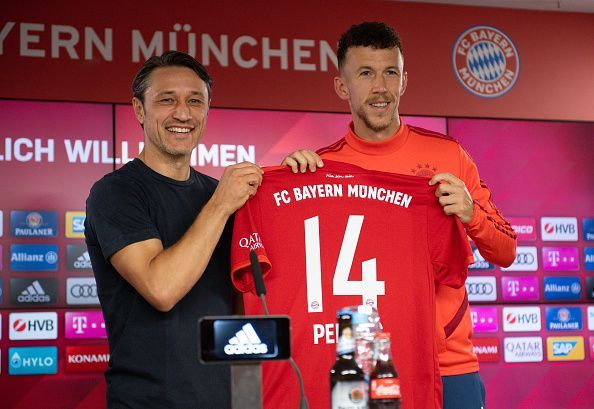 New Signing Ivan Perisic could make his debut for Bayern off the bench