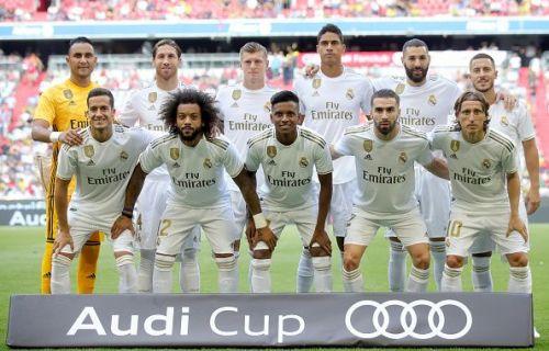 Real Madrid in pre-season