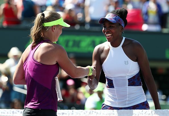 Venus Williams and Kiki Bertens will be out on Centre Court for their second round match.