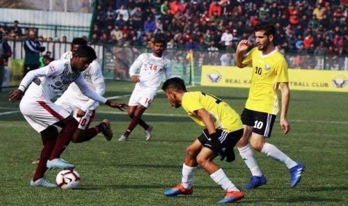 Real Kashmir FC defeated Mohun Bagan 2-1 the last time they faced each other